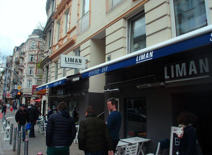 Ausstecker am LIMAN Fischrestaurant in Hamburg Winterhude