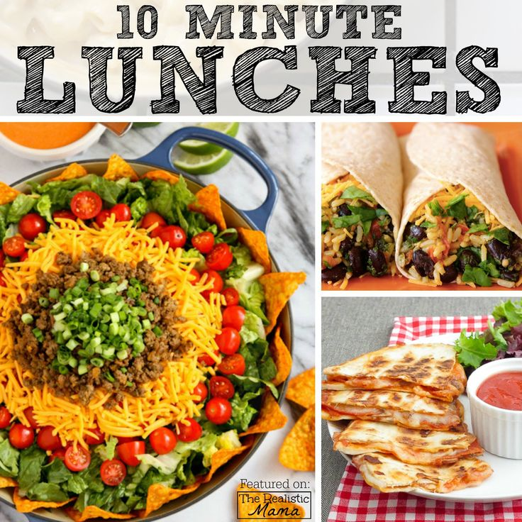 10-Minute Lunches