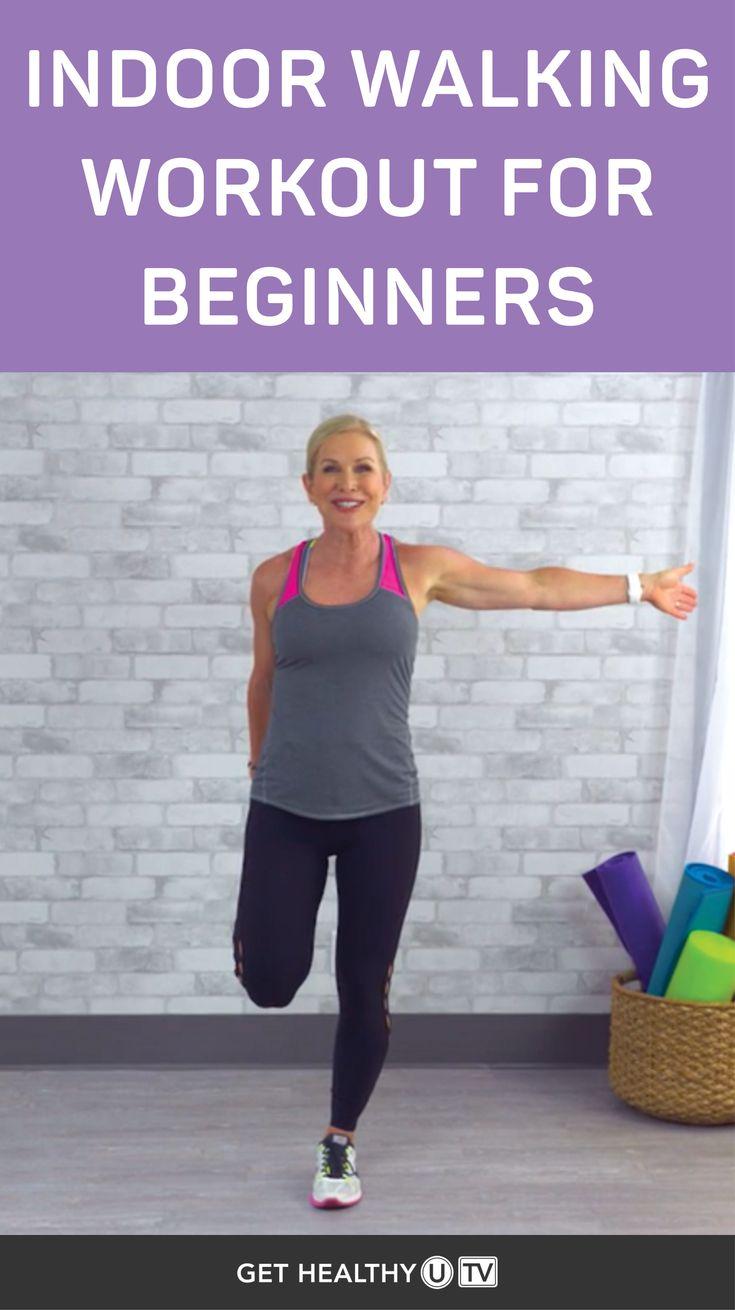 Indoor walking workout for beginners walking exercise