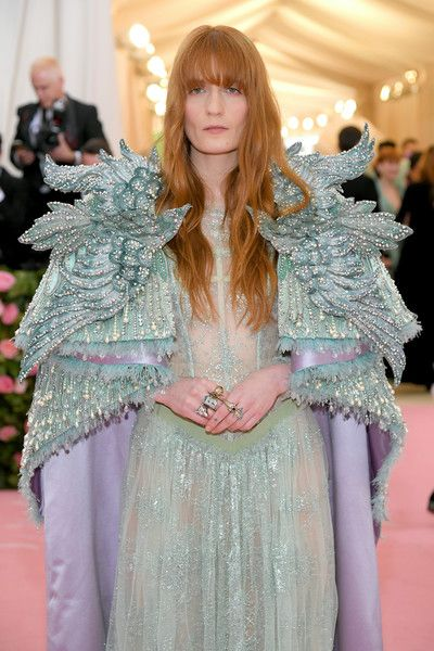 Florence Welch Photos Photos: The 2019 Met Gala Celebrating Camp: Notes On Fashion – Arrivals   – Florence + the Machine