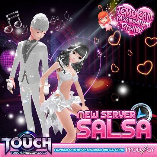 TOUCH INDONESIA akan kedatangan Server baru!!! Tempat dimana Superstar baru akan bermunculan, segudang harapan akan di pupuk, Komunitas, pertemanan, dan bahkan 'hubungan' akan dibangun,,, More Info : http://goo.gl/RaeA4h #prodigyinfinitech #TOUCH #Online #games #casual #musical #3D #Webbased #music #dance #Kpop #Korean #friends #love #couple #teman