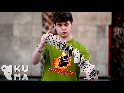 Hypnotic Cardistry Kid - YouTube