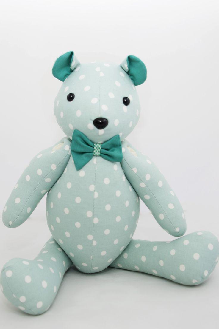 Handmade Fabric Teddy