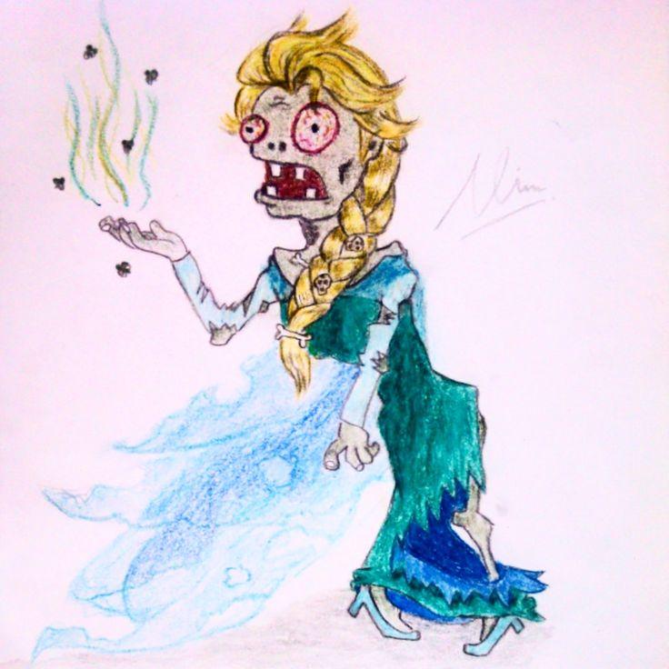 the zombie elsa