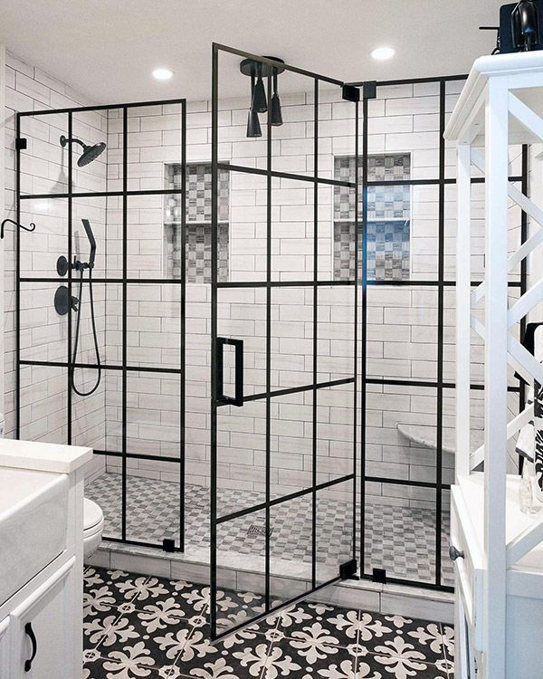 No Title In 2020 Shower Doors Bathroom Tile Inspiration Frameless Shower Doors