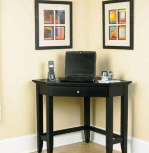 Pin by lora smith on design pinterest - Corner desk for small space ...