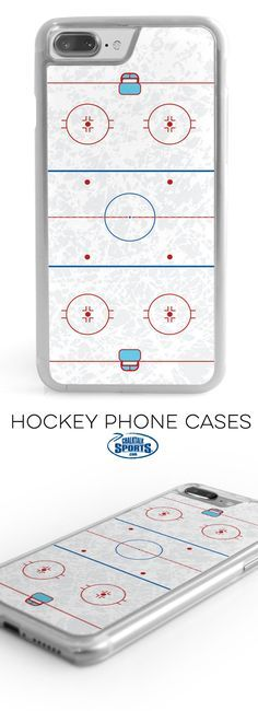 Looking for a simple, yet decorative way to protect you smart phone?! Check out this rink phone case! Show your love for hockey and the ice you're either practicing or playing on 24/7...pretty much!