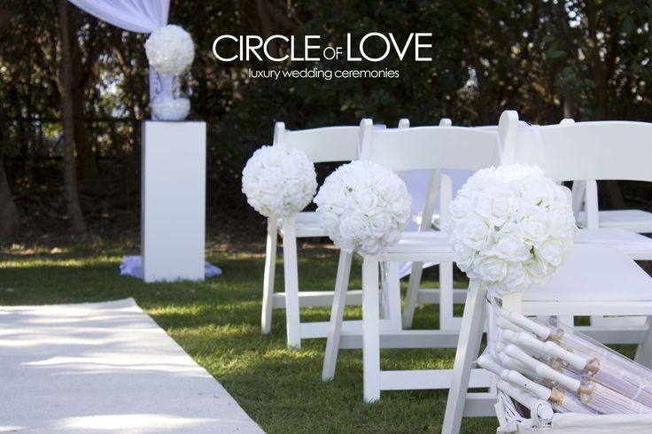 Salt garden wedding ceremony http://circleofloveweddings.com.au/