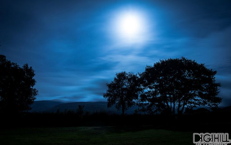 Brecon Field at Moonlight | by The Wandering Hill