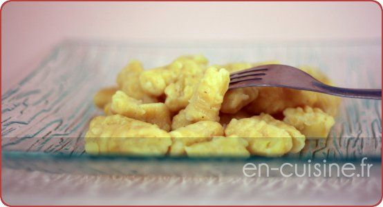 Recette gnocchi de pommes de terre au Thermomix