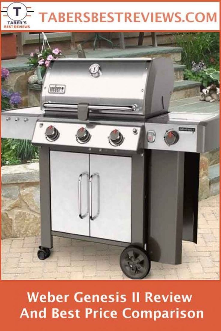 Weber Genesis Ii Review And Best Price Comparison Taber S Best Reviews Has Tested And Reviewed The Outdoor Cooking Recipes Cooking Prime Rib Gas Grill Reviews