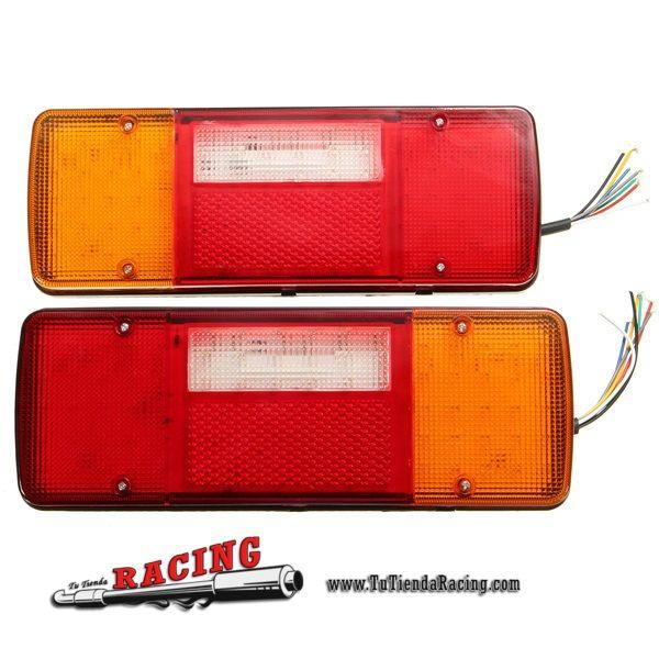 2X Luces de Freno con Intermitentes Luz de Matrícula 12V 92 LED para Coche Camión Caravana - 28,61€ - TUTIENDARACING - ENVÍO GRATUITO EN TODAS TUS COMPRAS
