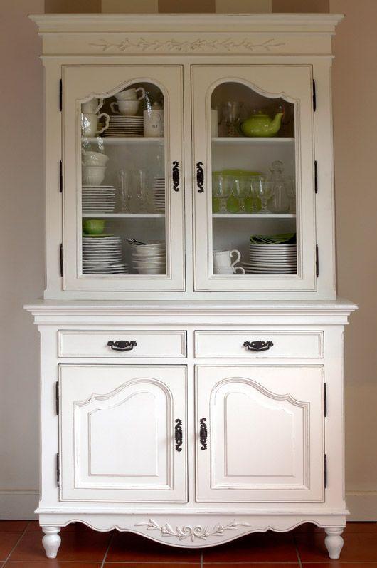 Верх буфета двухдверный ″Романс″. Мебель в стиле прованс, буфет, интерьер, provence, france.
