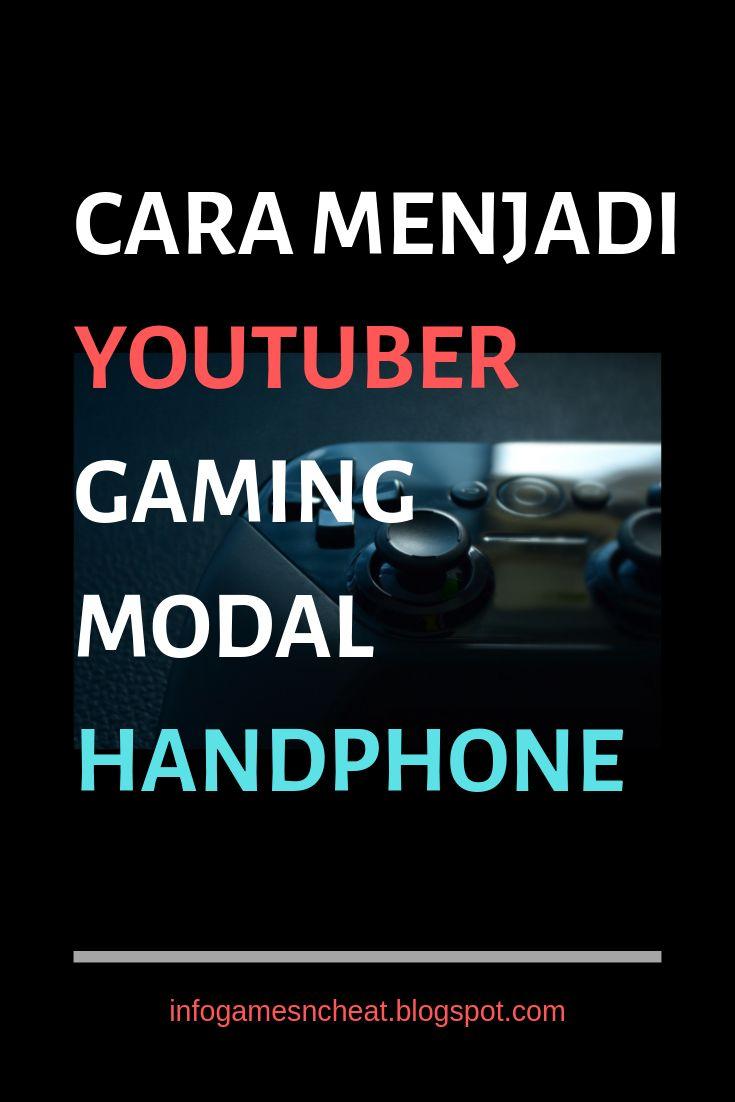 Cara Menjadi Youtuber Gaming