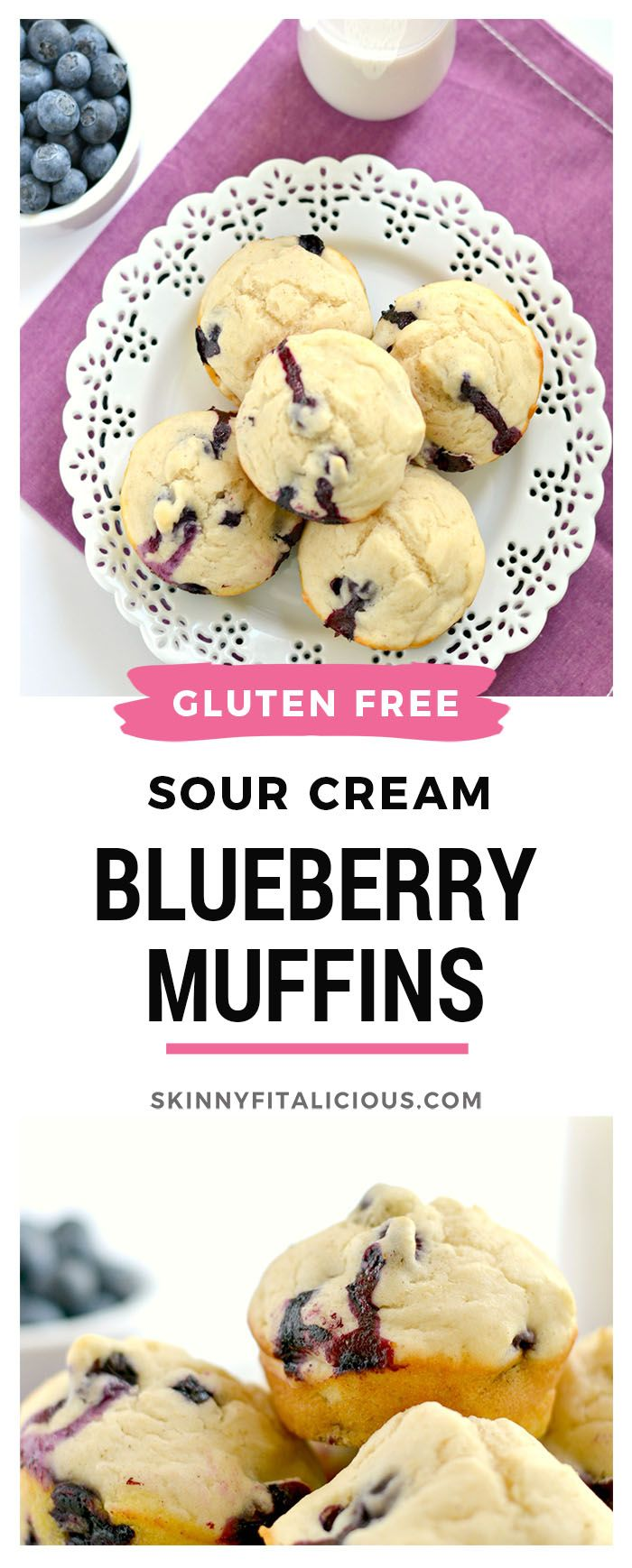 Sour Cream Blueberry Muffins Made Lighter With Sour Cream Applesauce Dairy Fre Low Calorie Blueberry Muffins Sour Cream Blueberry Muffins Sour Cream Muffins