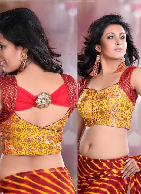 Saree Blouse Neck Design | Indian 2012 Saree Blouse Neck Patterns Fashion « sodirmumtaz