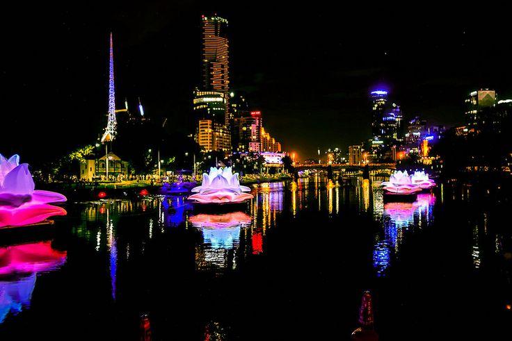 Melbourne Yarra River- White Nights
