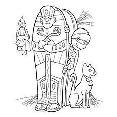 23 best Ancient Egypt coloring book images on Pinterest
