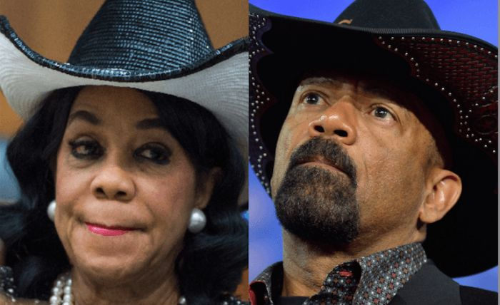 Former Milwaukee County Sheriff David Clarke Jr., the guy who wears fake medals on his uniform to make himself look …