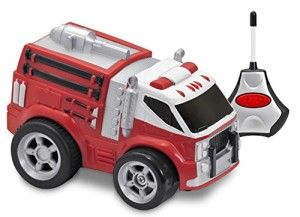 Kid Galaxy: Soft and Squeezable Radio Control Fire Truck Simple, Easy to use, Spin-n-Go Action.  This Radio Control Fire Truck has a soft and squeezable body. http://awsomegadgetsandtoysforgirlsandboys.com/kid-galaxy/ Kid Galaxy: Soft and Squeezable Radio Control Fire Truck