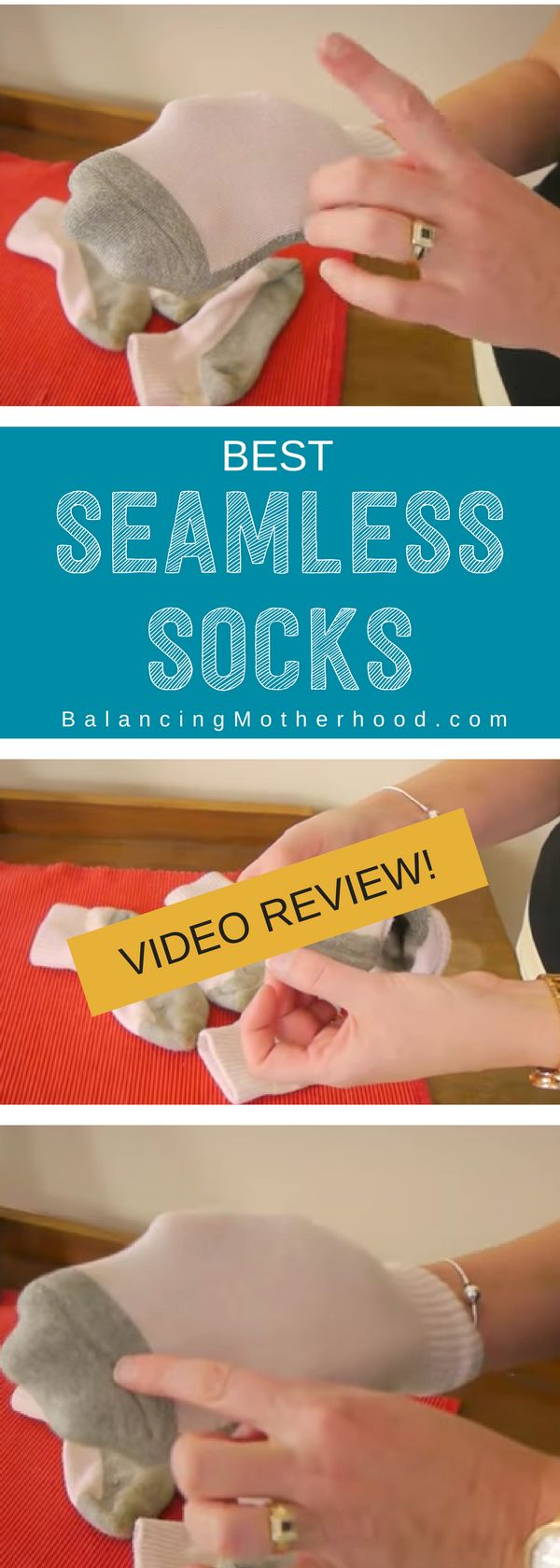 Have a child with clothing sensitivities? Is putting on shoes and socks a chore? These are the BEST seamless socks around. Read all about our story of how my daughter can now get her shoes and socks on without a tantrum -- full review and video! You'll love these socks.