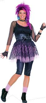 If you just wanna have fun youu0027ll love this adult pop star costume in a style made popular by stars like Madonna and Cyndi Lauper. Costume includes a black  sc 1 st  Pinterest & 59 best Cyndi Lauper Costume images on Pinterest | Cyndi lauper ...