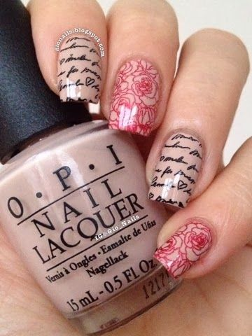 Romantic Mani with MoYou
