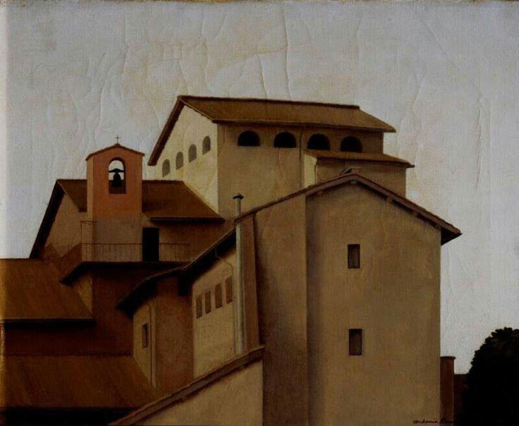 Convento 1928 circa _Antonio Donghi__Fondazione Cariplo