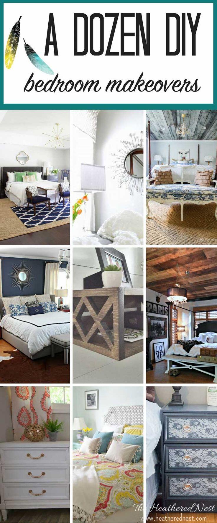 Diy master bedroom makeover - 12 Fantastic Diy Bedroom Ideas From Floating Bedside Tables To Barn Board Wood