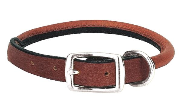 THE BRIARWOOD ROLLED (DOG0186-8) Show off your dog's impeccable style with this exquisite rolled collar and leash set. Trendy rolled bridle leather design for a sleek and sophisticated look finished with smoothed and darkened edges to help keep moisture out. The rolled edges help reduce matting and tangles. Complete with solid stainless steel buckle and expert stitching.