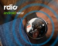 rdio - Android Wear App