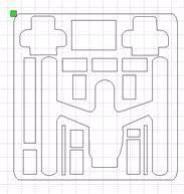 DJI Inspire Drone Foam Insert for Pelican Case 1640 (Foam Only)