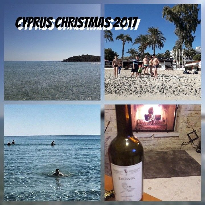 Christmas time in Cyprus became very intetesting. December 26 i was swimming at Nissi Beach in Ayia Napa. The water was crystal clear and air tempetature was perfect. I never swim during this time before. In the night we was drinking a good wine made by Mr. Demetris Demetriou next to the fireplace #christmas #cyprus #christmasincyprus #nissibeach #ayianapa #nicosia