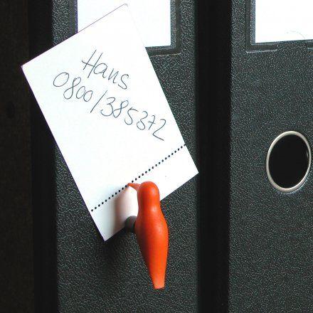 OrdnerSpecht orange von details jetzt im design3000.de Shop kaufen! Kleine Vogelkunde: Der OrdnerSpecht ist ein pussierliches Tierchen und die...