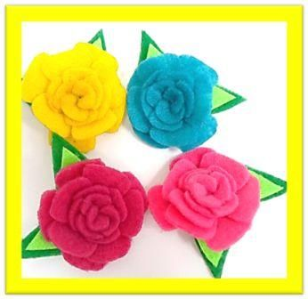 flores para fiestas, obsequios, productos. por @creaizy