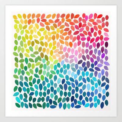 Rain 11 Art Print by Garima Dhawan - $18.00