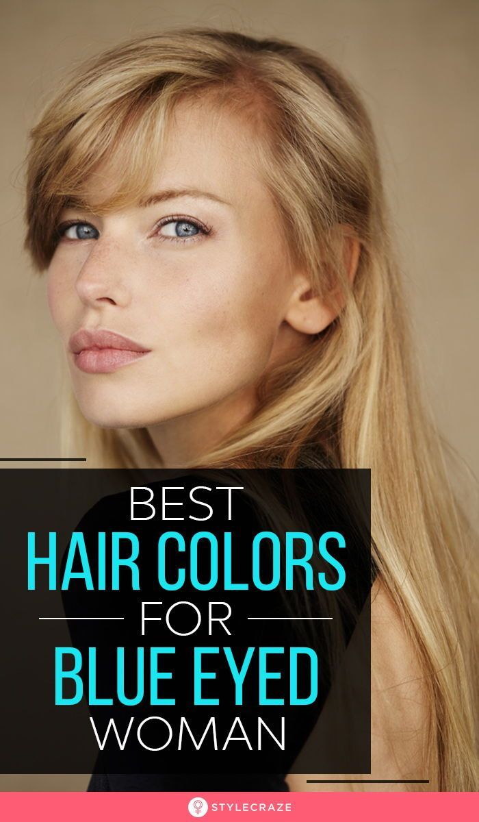 Best Hair Colors For Blue Eyed Woman In 2020 Cool Hairstyles Cool Hair Color Blue Eye Color
