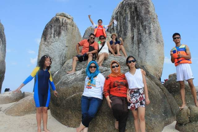 Sugar Family Vacation to Belitung Island with B/I/C JAKARTA TOURS