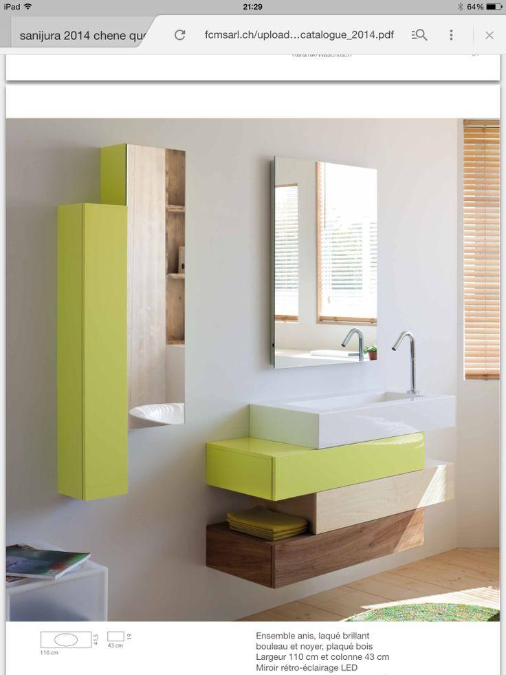 Oltre 1000 idee su sanijura su pinterest vasque salle de for Meuble de salle de bain facq