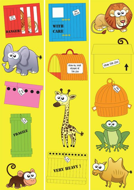 Teacher's Pet Displays » Dear Zoo Border » FREE downloadable EYFS, KS1, KS2 classroom display and teaching aid resources » A Sparklebox alternative