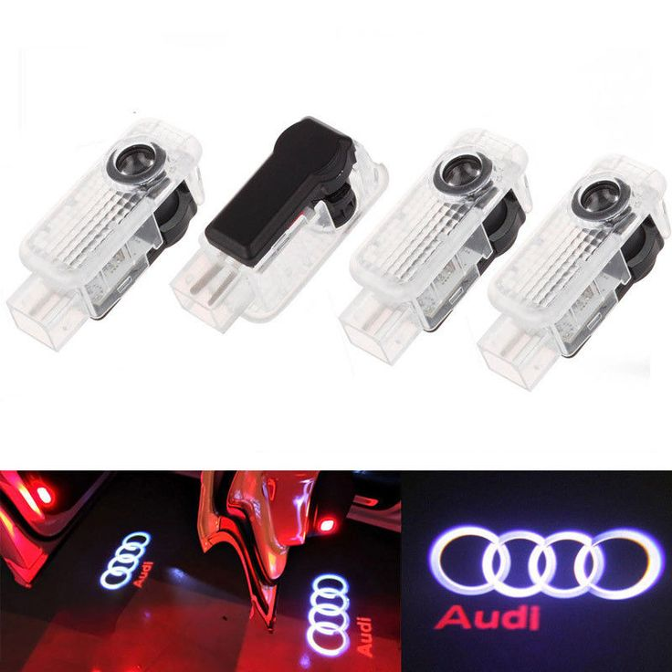awesome Great 4 LED Logo Light Shadow Projector Car Door Courtesy Laser For Audi A4 A6 A8 Q7 2018 Check more at http://24carshop.com/cars-gallery/great-4-led-logo-light-shadow-projector-car-door-courtesy-laser-for-audi-a4-a6-a8-q7-2018/
