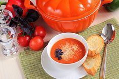 Томатный суп — это не только всемирно известный андалузский гаспачо , супов из протертых помидоров множество, и подаваться они могут как в холодном, так и в горячем... - Леди Mail.Ru