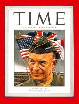 1945 – D-Day and Dwight Eisenhower  Publish Date: Jan. 1, 1945  Cover Story: General Dwight Eisenhower, Man of the Year