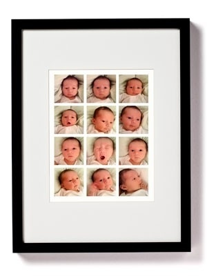 One photo for every month of baby's first year. by clarissa