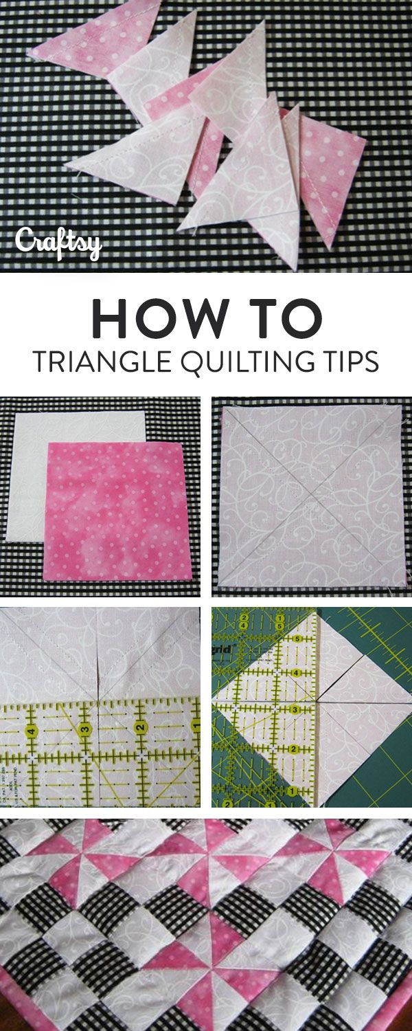 If you don't like cutting and stitching loose triangles together on the bias, or need to make lots and lots of half-square triangles for a quilting project, here's a quick and easy solution.