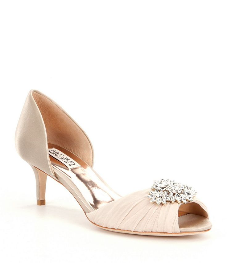 Shop for Badgley Mischka Caitlin Crystal-Embellished Satin d´Orsay Pumps at Dillards.com. Visit Dillards.com to find clothing, accessories, shoes, cosmetics & more. The Style of Your Life.
