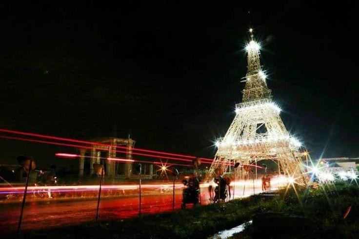 Wowww, Kerennya 'Menara Eiffel' di Tasikmalaya - http://www.rancahpost.co.id/20160148811/wowww-kerennya-menara-eiffel-di-tasikmalaya/