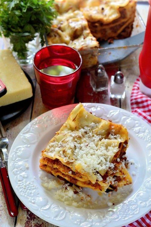 Darált húsos lasagne recept