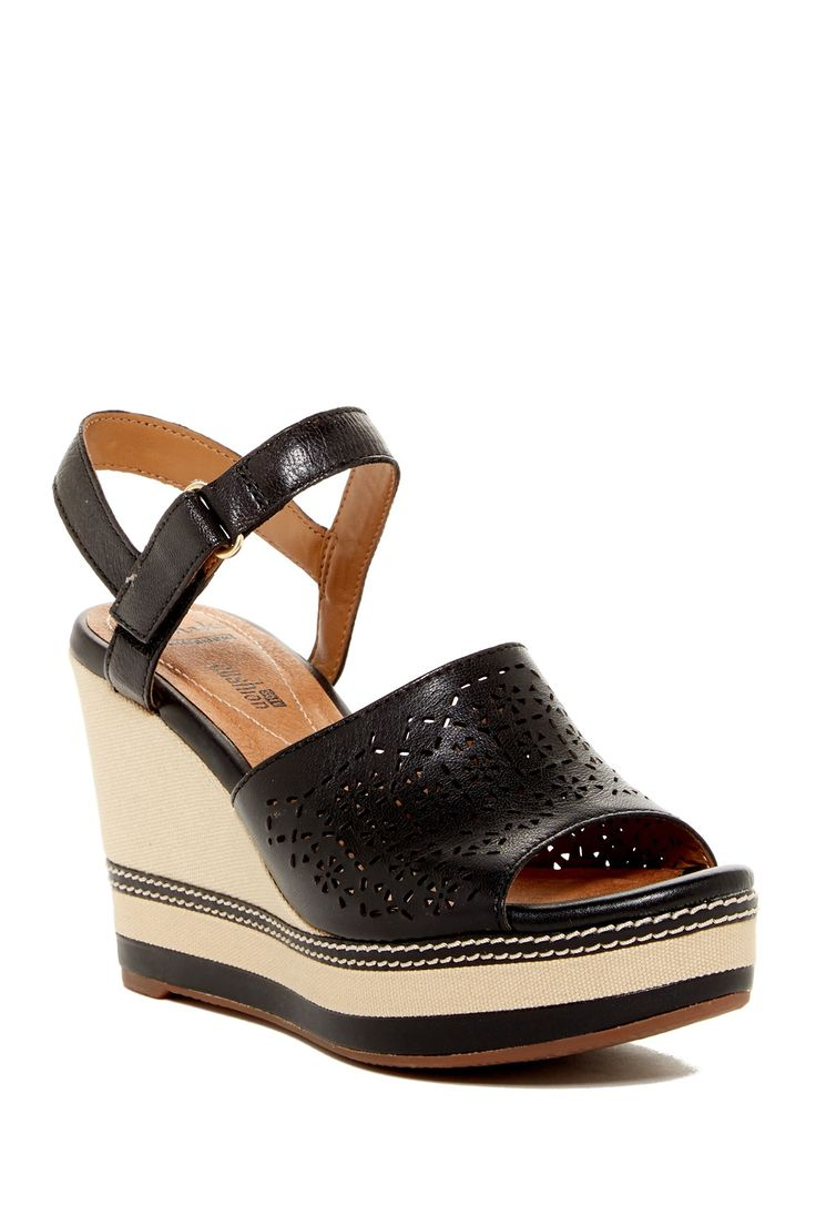 Zia Graze Platform Wedge Sandal