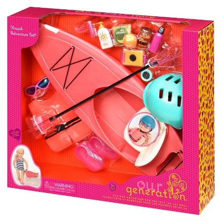 Our Generation Deluxe Accessory - Kayak : Target - I really don't want this in the houes,but she will loveit
